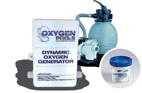 OXYGEN POOLS SYSTEM