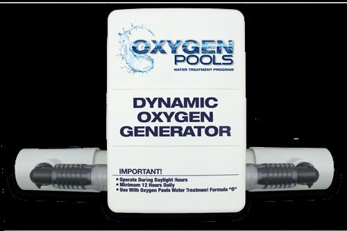 oxygen pools chlorine free water treatment ozone generator